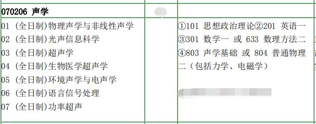 南京大学考研声学专业综合考研真题资料和答案